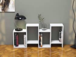 Modern Family Room Furniture Ideas - WoodmadeCreation low bookcase