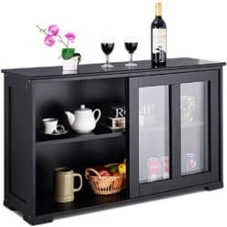 Modern Kitchen Furniture - Costzon Kitchen Storage Sideboard