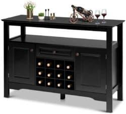 Modern Kitchen Furniture - Giantex Buffet Server Wood Cabinet