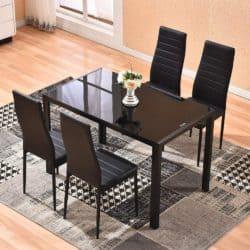 Modern Kitchen Furniture - Glass Table Set