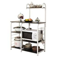 Modern Kitchen Furniture - Sogesfurniture Baker's Rack Utility Storage Shelf