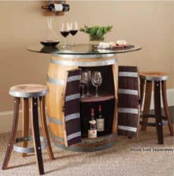 Modern Pallet Furniture Ideas - Evanswbf Wine Barrel Table