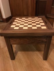 Modern Pallet Furniture Ideas - FuleyFurnitureStore Reversible wooden chess table