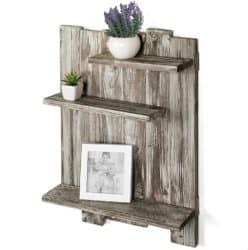 Modern Pallet Furniture Ideas - MyGift Wood Pallet-Style Wall Mounted