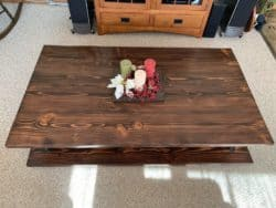 Modern Pallet Furniture Ideas - NaturalFarmhouse Coffee Table