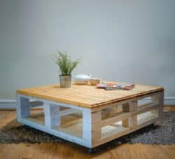 Modern Pallet Furniture Ideas - SAFurniture Coffee Table