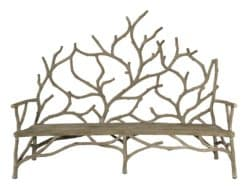 Modern Unique Furniture - Currey and Company Elwynn Bench