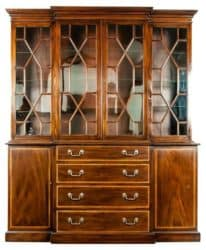 Bohemian Furniture - 19th Century Chippendale Style China Cabinet
