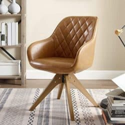 Bohemian Furniture - Art Leon Upholstered Accent Swivel Chair