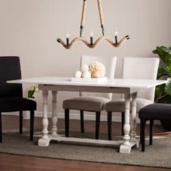 Bohemian Furniture - Holly & Martin Farmhouse Folding Trestle Console to Dining Table