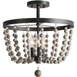 Bohemian Furniture - LALUZ Semi Flush Mount Ceiling Light