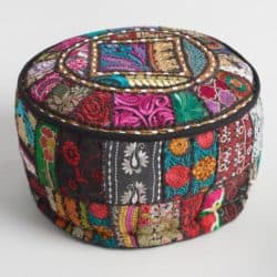 Bohemian Furniture - Blak Suti Pouf