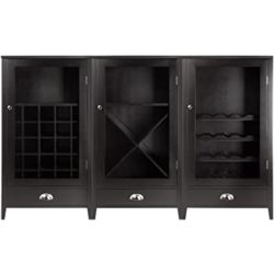 Bohemian Furniture - Winsome 3-Piece Wine Cabinet