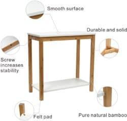 cheap modern furniture - BAMEOS Bamboo Side Table