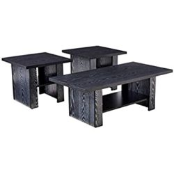 unique furniture - 3 piece occasional table set