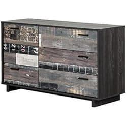 unique furniture - South Shore Fynn 6-Drawer