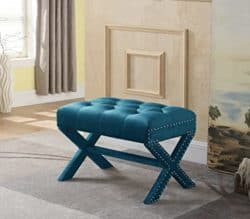 unique furniture - iconic home bench ottoman
