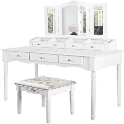 unique furniture - make-up vanity set