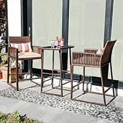 unique furniture - sunsitt 3-piece table set