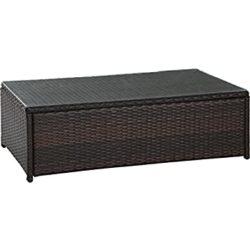 unique furniture - crosley wicker table