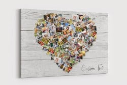 Best Housewarming Gifts - Family Photo Heart Collage (1)