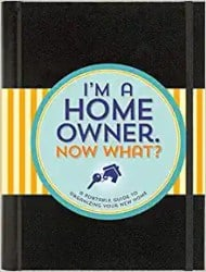 Best Housewarming Gifts - I'm a Homeowner Now What (A Logbook for Everything in Your Home)