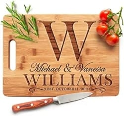 Best Housewarming Gifts - Personalized Cutting Board