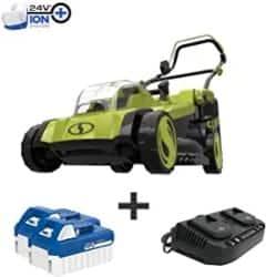 Best Lawn Mower - Sun Joe 24V-X2-17LM