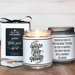 Best Personalized Housewarming Gifts - Housewarming Gift Candle