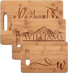 Best Personalized Housewarming Gifts - Personalized Cutting Board