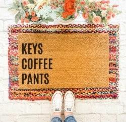Keys Coffee Pants Doormat (1)
