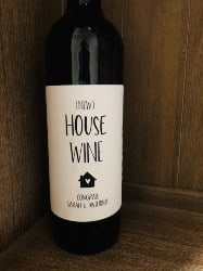 New House Wine Bottle Label (1)
