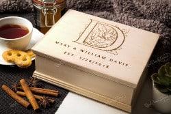 Personalized Housewarming Gifts - Personalized Tea Box (1)