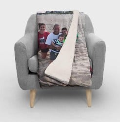 Personalized Practical Housewarming Gifts - Personalized Photo Blanket (1)