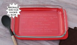 Personalized Practical Housewarming Gifts - Personalized casserole dish (1)