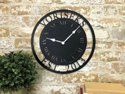 Personalized Practical housewarming gifts - Personalized Metal Clock (1)