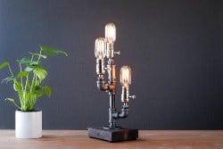 Unique Housewarming Gifts - Edison Steampunk Lamp (1)