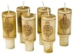Unique Housewarming Gifts - Merlot Scented Wine Cork Candles for Empty Wine Bottles (1)