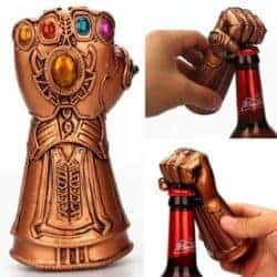 Unique but Practical Housewarming gifts - Thanos Gloves Fist Shaped Beer Bottle Opener