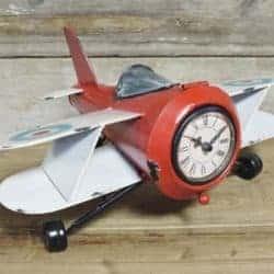 Miniature Metal Biplane