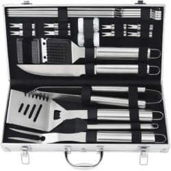 housewarming gifts for men - Barbecue Grill Utensils Kit