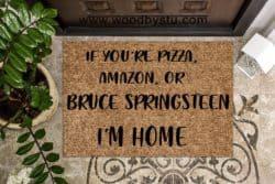 housewarming gifts for men - Funny Door Mat