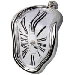 housewarming gifts for men - Table Melting Time Flow Desk Clock