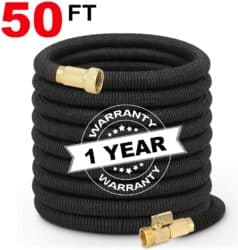 Best Expandable Garden Hose - Hermard Expandable Garden Hose 50ft
