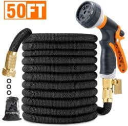 BruRkim 50ft Expandable Garden Hose