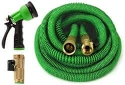 Best Garden Hose - ZZKH Garden Hose 50FT Lightweight Stretch Water Hose