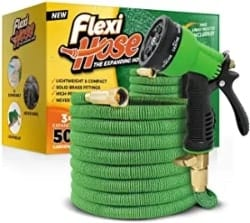 Best Lightweight Garden Hose - Flexi Hose 50 FT Lightweight Expandable Garden Hose