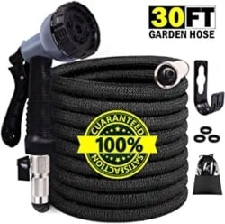 Best Lightweight Garden Hose - STAR FOREST 30FT Expandable Garden Hose