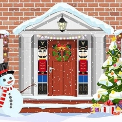 Nutcracker Wall Hanging Decoration (1)