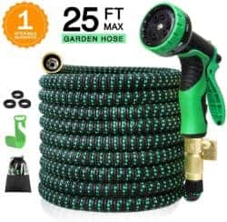 expandable garden hose - Colrasn 25ft Expandable Garden Hose
